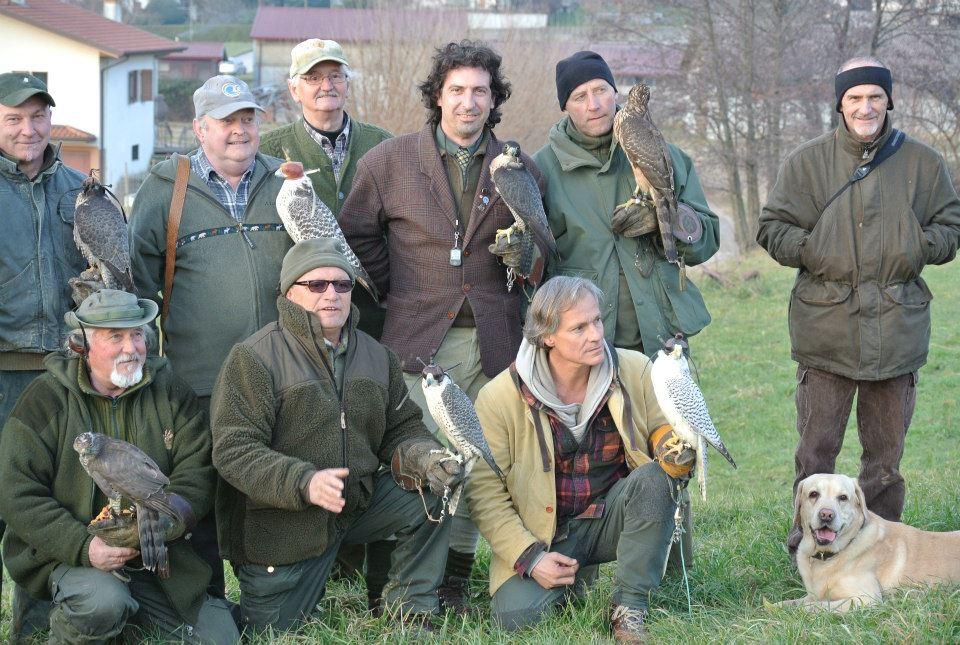Lovci sokolari